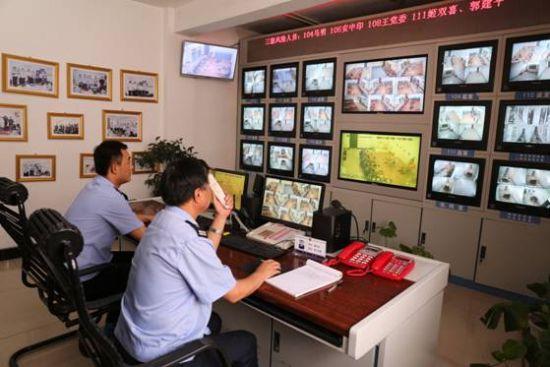 东营市公安局看守所监控系统项目