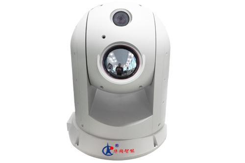 边海防 船用监控HW-TI100F3(6)HM300DS球形双光谱夜视仪1000米-3000米监控